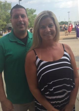 Brittney and Corey Polk - before
