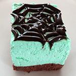 chocolate mint cheesecake