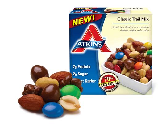 Atkins Trail Mix Products