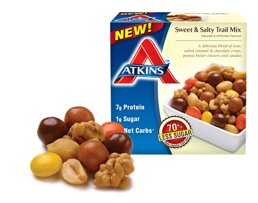Atkins Trail Mix Products 2