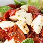 tomato and feta salad