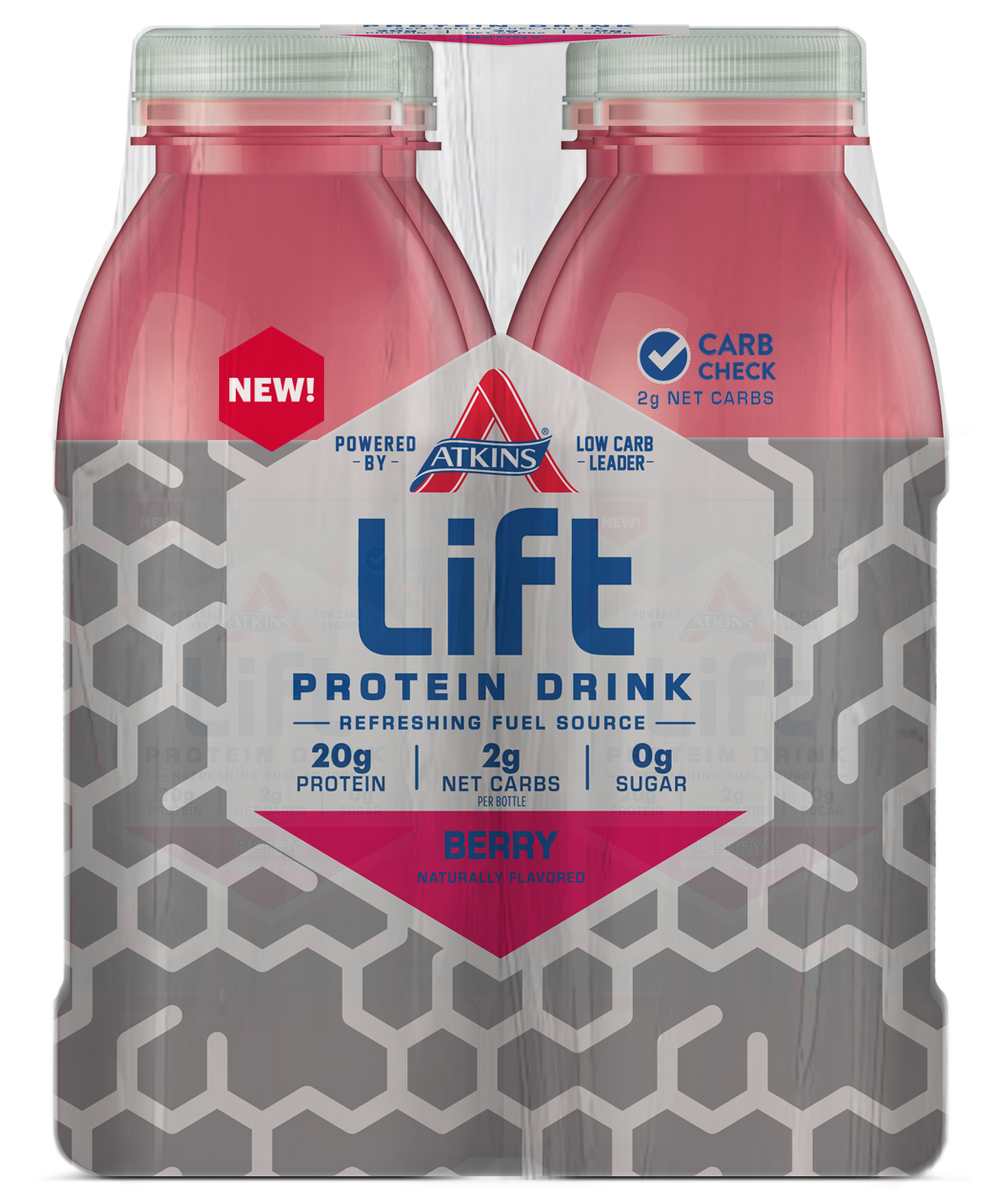 Photo of Atkins Lift Protein Drink – Berry