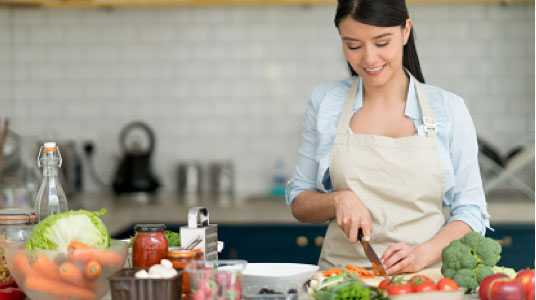 Lose weight cooking