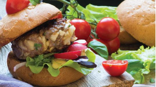 Lose weight hamburguer