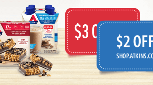 Low carb coupons