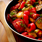 Turkey ratatouille with lots of veggies