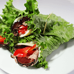 Roast Beef, Red Bell Pepper, and Provolone Lettuce Wraps