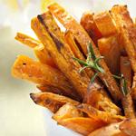 low carb sweet potato fries