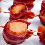 scallops bacon