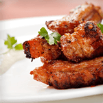 low carb southern barbecue rubbed chicken