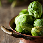 Photo of Steamed Brussels Sprouts with Brown Butter and Lemon Zest