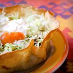low carb tortilla bowl