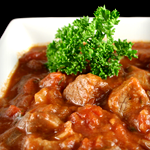 Photo of Veal Stew with Mushrooms and Smoked Provolone