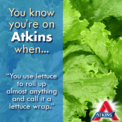 You rejoice at the sight of lettuce