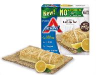 New Lemon Snack Bars
