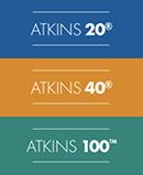 Atkins Plans 20,40,100 Stacked Logo