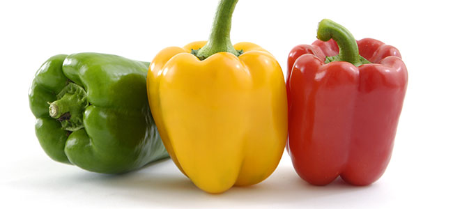 Green, Yellow, Red Bell Peppers