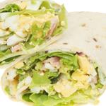 Image of bacon-egg salad flatout wrap