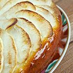 Caramelized Pear Custard