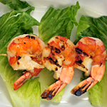 shrimp and avocado