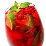 Photo of Raspberry-Lime Fizz