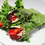 Image of Beef, Red Bell Pepper, and Provolone Lettuce wrap