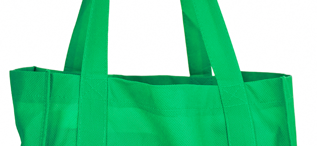 Bring reusable shopping bags along on your errands