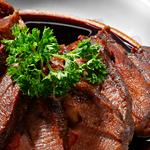 Rib-Eye Steak with Red Wine Sauce